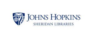 Logo for the Johns Hopkins University Sheridan Libraries.