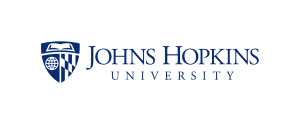Logo for the Johns Hopkins University.