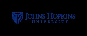 Logo for the Johns Hopkins University.